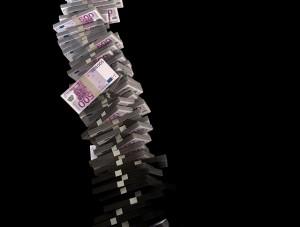 Sypání peněz