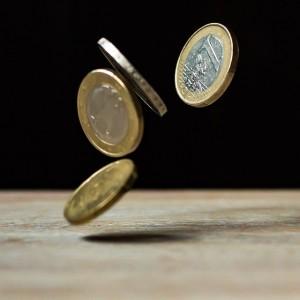 Padání peněz